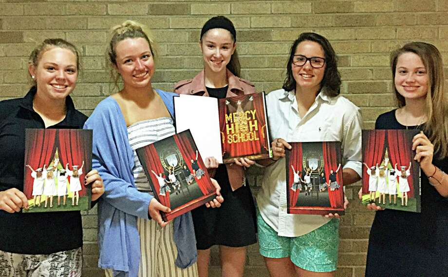 Mercy High School's yearbook program has been named a 2018 Jostens National Yearbook Program of Excellence. Photo: Contributed Photo