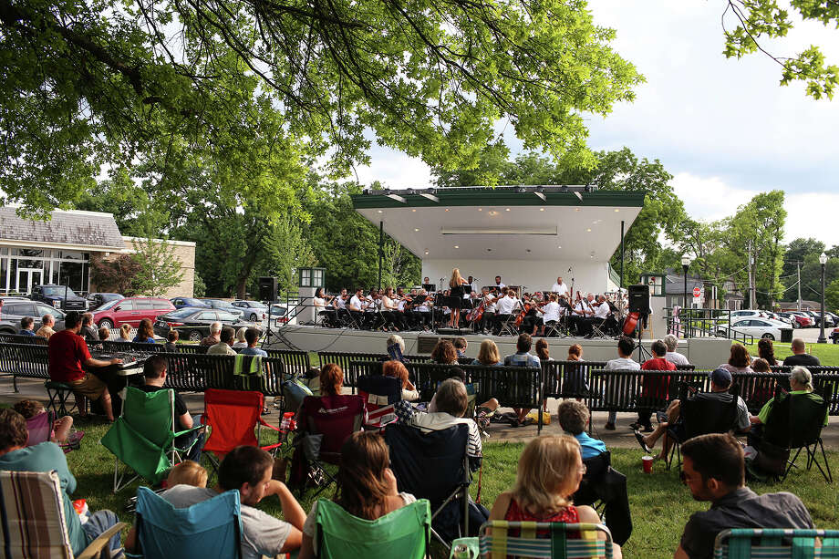 The newest addition to Edwardsville Park and Recreation Department's Arts in the Park schedule, Sunday Symphonies, took the stage on Sunday, June 17, at the bandstand at City Park. The Edwardsville Summer Symphony Orchestra has more upcoming performances on July 29 and Aug. 26.