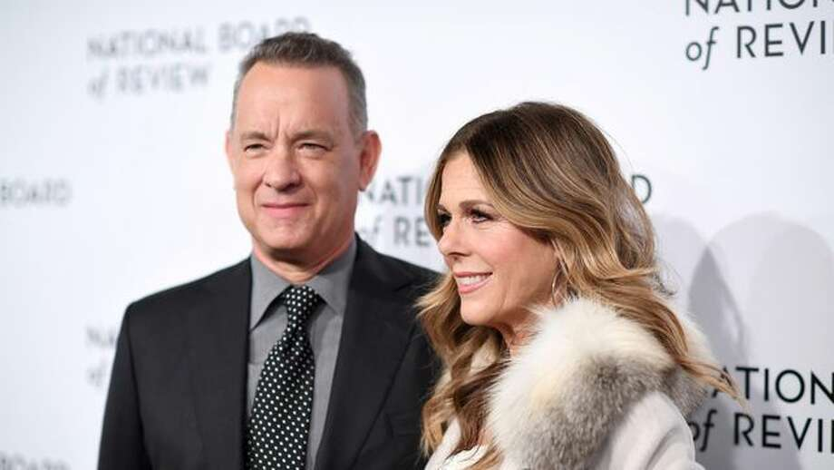 Tom Hanks and Rita Wilson Photo: Dimitrios Kambouris/Getty Images