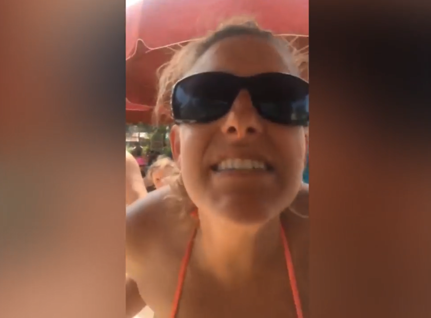 White woman fired after video of racist rant at black neighbor goes viral