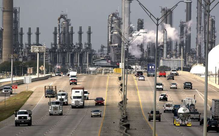 Shell Oil Company's Deer Park refinery and petrochemical facility. Canada, rich in natural gas, is developing its own petrcohemical industry to compete with the Gulf Coast.