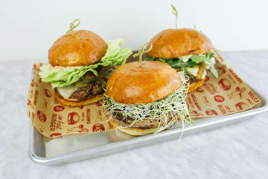 Burgers at Belcampo at Jack London Square. Photo: Belcampo