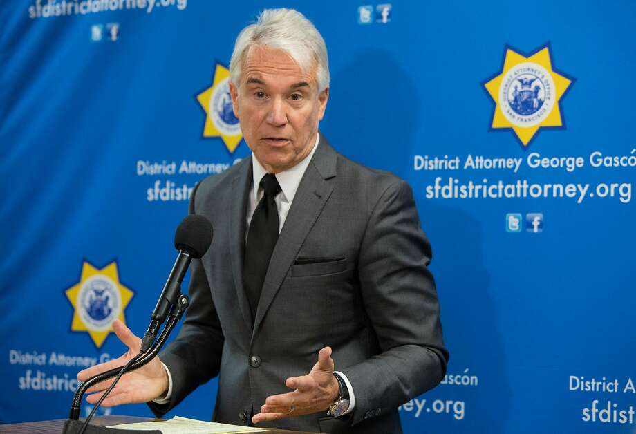 San Francisco District Attorney George Gascon's announces his decision not to charge the officers who shot and killed Luis Gongora Pat and Mario Woods during a press conference at the Hall of Justice Thursday, May 24, 2018 in San Francisco, Calif. Photo: Jessica Christian / The Chronicle