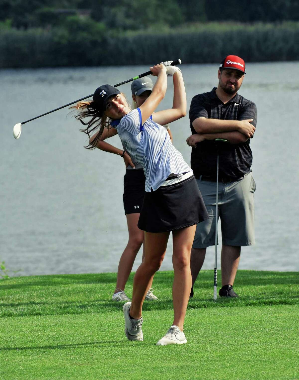 Newtown's Sarah Houle won back-to-back state championships as a junior and senior.