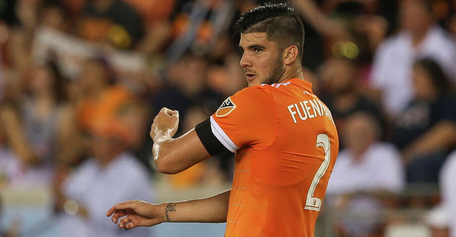 Houston Dynamo defender Alejandro Fuenmayor (2) during the first half of the MLS game against the New York City at BBVA Compass Stadium on Friday, May 25, 2018, in Houston. ( Yi-Chin Lee / Houston Chronicle ) Photo: Yi-Chin Lee/Houston Chronicle / © 2018 Houston Chronicle