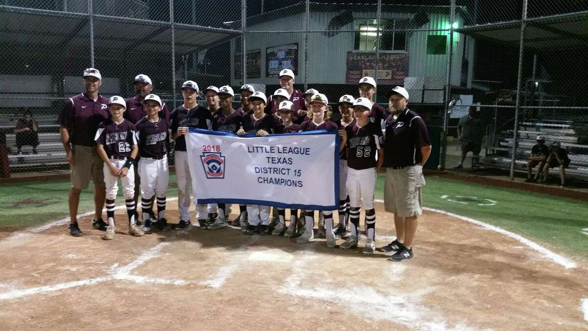 The Pearland East all-stars defeated Pearland West, 5-2, to win the District 15 International Little League tournament Friday night. The team now advances to the sectional tournament.