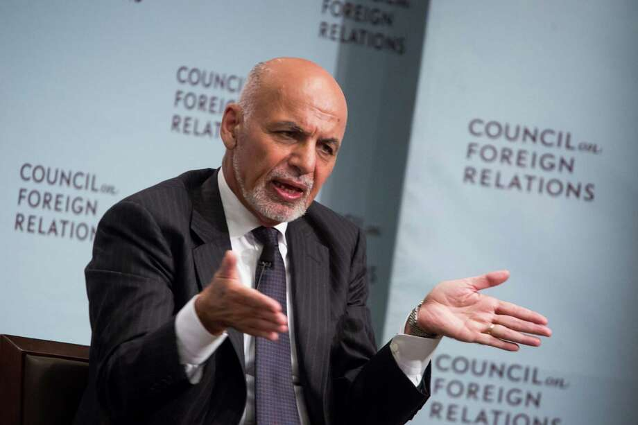 President Ashraf Ghani said Afghanistan is open to peace talks with the Taliban. Photo: Bloomberg Photo by Michael Nagle / © 2017 Bloomberg Finance LP