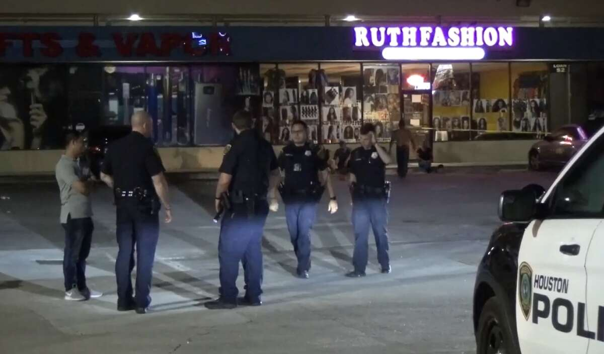 One person was killed and two others were wounded in a Saturday morning shooting at a northwest Houston bar, Houston Police said. Officers were dispatched around 2:30 a.m. to the parking lot of Mambo's sports bar, in the 6500 block of Antoine, after a group of men reportedly started arguing and then someone began shooting.