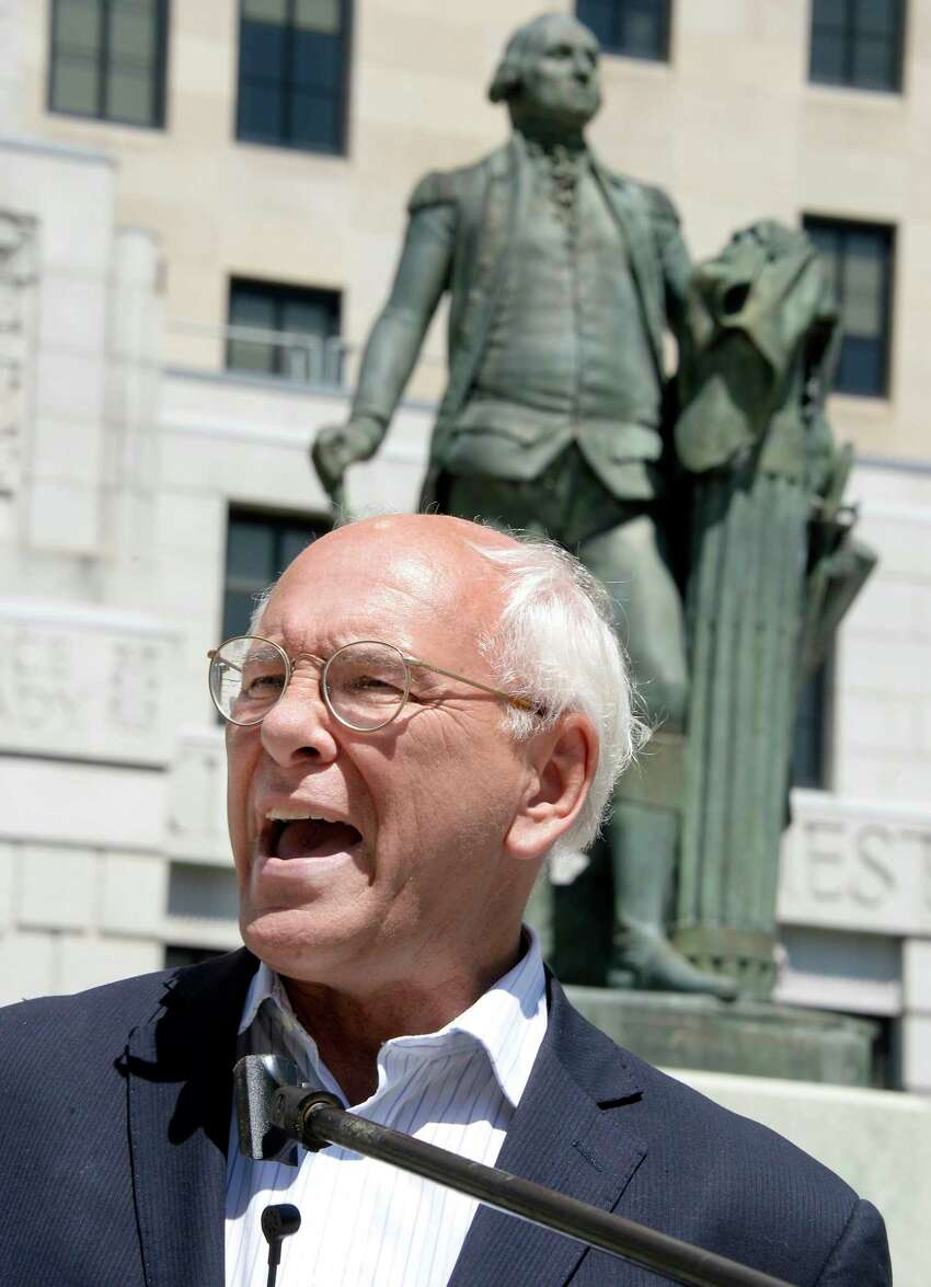 Rep. Paul Tonko speaks during the People for the American Way's nationwide day of protest against the Trump administration?•s treatment of immigrants at the Capitol Saturday June 30, 2018 in Albany, NY. (John Carl D'Annibale/Times Union)
