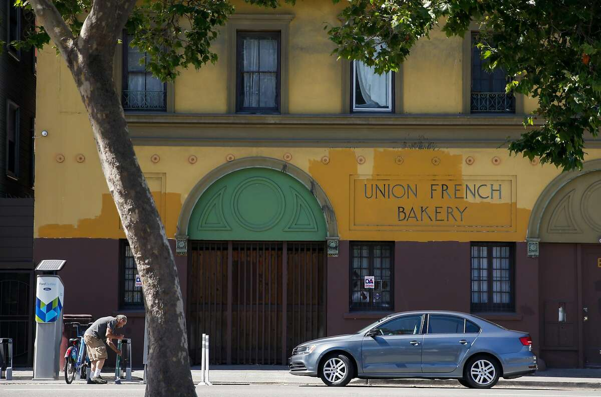 The Union French Bakery building seen along 27th Street in Oakland, Calif. Friday, June 1, 2018.