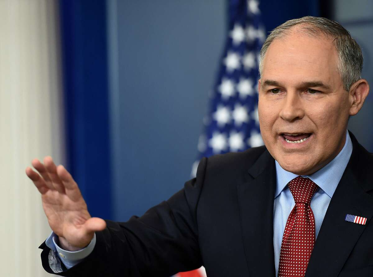 Scott PruittTitle: EPA Administrator Pruitt served as EPA administrator from Feb. 17, 2017, to July 6, 2018, resigning amid ethics scandals