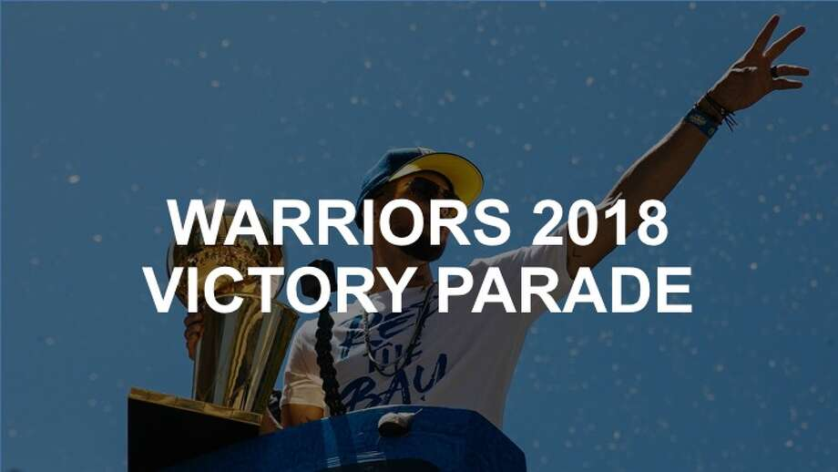 Click through to see how the Golden State Warriors and the Bay Area celebrated their 2018 NBA Finals victory. Photo: Mason Trinca/Special To The Chronicle