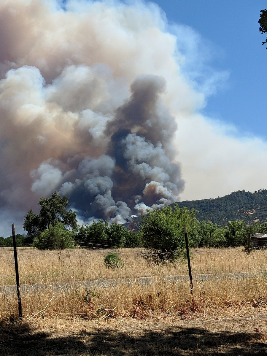 Evacuations Ordered For Fires In Lake Yolo Counties As
