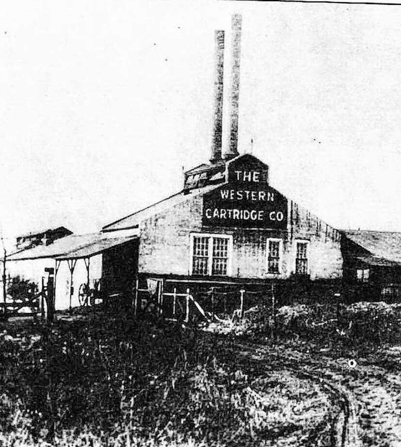 The first manufacturing building of the Western Cartridge Company was erected on the south bank of Wood River in 1903. The Equitable Powder Manufacturing Company, first of the Olin enterprises, was built on the north side of the stream in 1892. Olin Works at East Alton now covers 1700 acres. Internationally known, it is diversified in chemicals, metals and applied physics, electronic materials and services, aerospace/defense, and water quality management. Olin Brass and Winchester are headquartered at East Alton. Photo:       File Photo