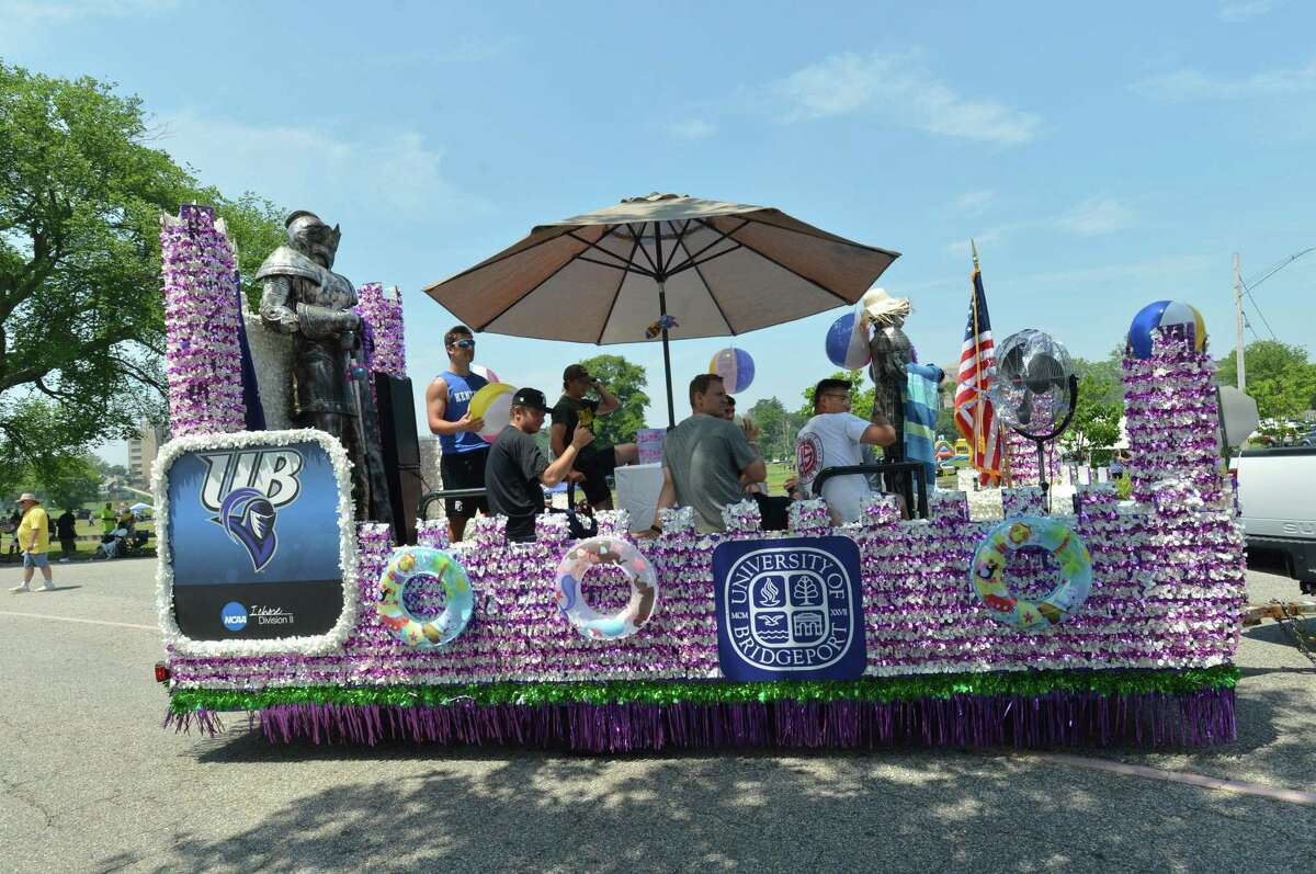 The 2018 Barnum Festival Great Street Parade through Seaside Park in Bridgeport Conn. on Sunday July 1, 2018