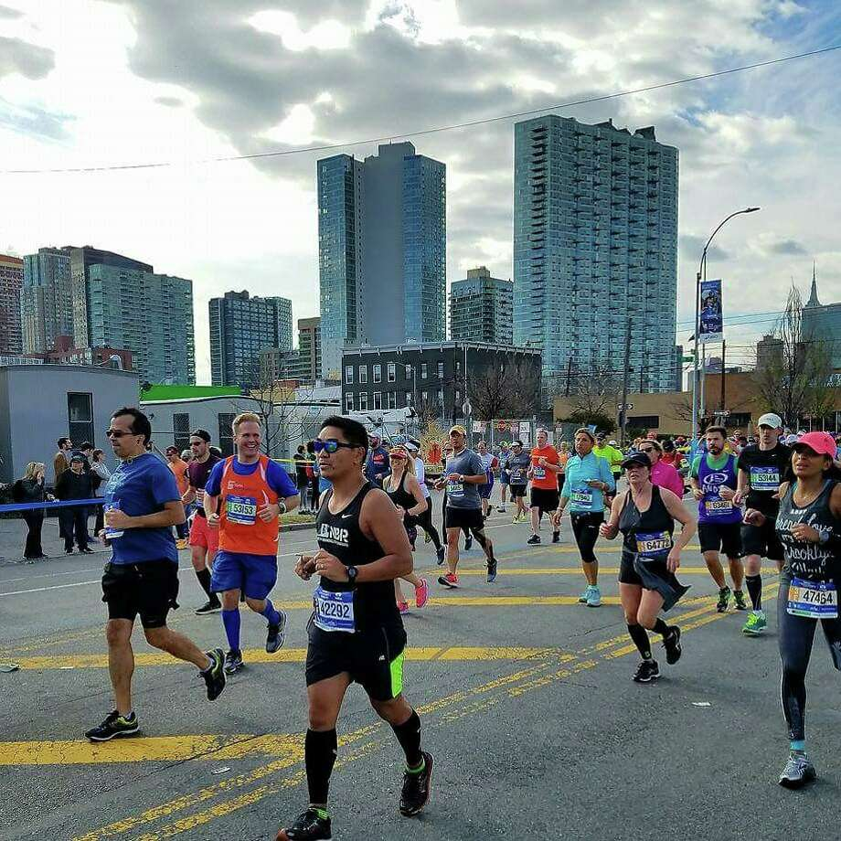 I ran in the NYC Marathon in 2016. Photo: Courtesy Of Chris Wessell