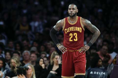 sports shoes 946f8 914a5 FILE - In this March 19, 2017, file photo, Cleveland Cavaliers  LeBron