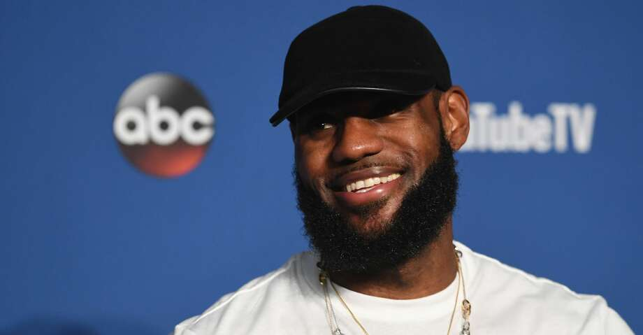 CLEVELAND, OH - JUNE 08:  LeBron James #23 of the Cleveland Cavaliers speaks to the media after being defeated by the Golden State Warriors during Game Four of the 2018 NBA Finals at Quicken Loans Arena on June 8, 2018 in Cleveland, Ohio. The Warriors defeated the Cavaliers 108-85 to win the 2018 NBA Finals.  NOTE TO USER: User expressly acknowledges and agrees that, by downloading and or using this photograph, User is consenting to the terms and conditions of the Getty Images License Agreement.  (Photo by Jason Miller/Getty Images) Photo: Jason Miller/Getty Images