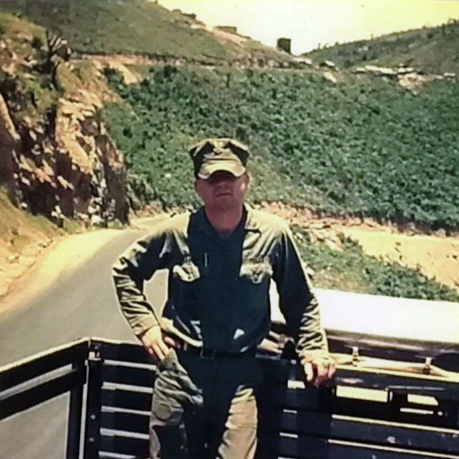David Clum. (Provided photo) Provided Seabee Construction Mechanic David Clum is on duty in Vietnam.