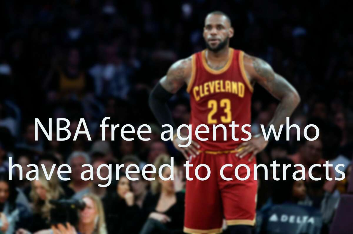2018 NBA free agents who already have agreed to contracts.