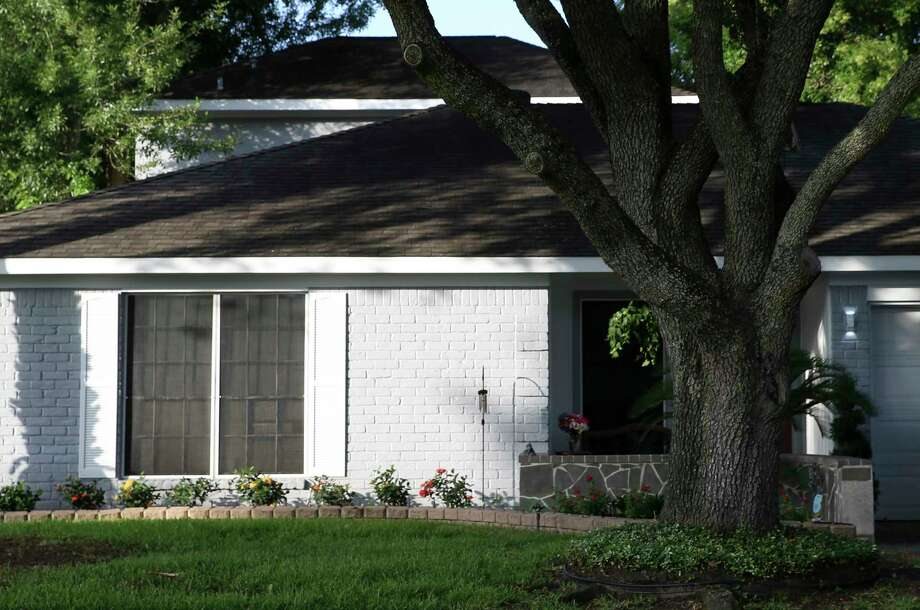 The house of the 12-year-old boy who was shot in a drive-by shooting on the 11500 block of Pine Knoll is shown Monday, July 2, 2018, in Houston. Photo: Yi-Chin Lee, Houston Chronicle / © 2018 Houston Chronicle