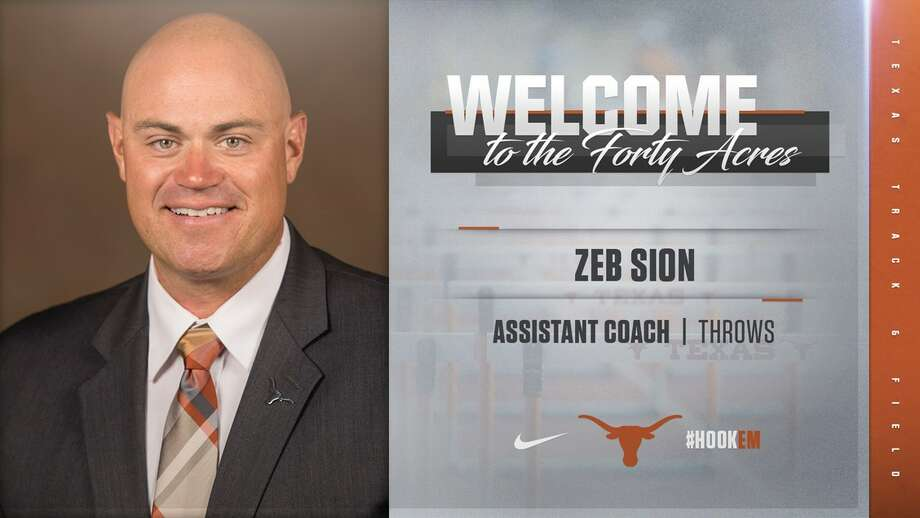 Head coach of Texas Track & Field, Edrick Floréal announced the addition of assistant coach Zeb Sion to his Track & Field staff on Monday. (Courtesy of University of Texas Athletics)