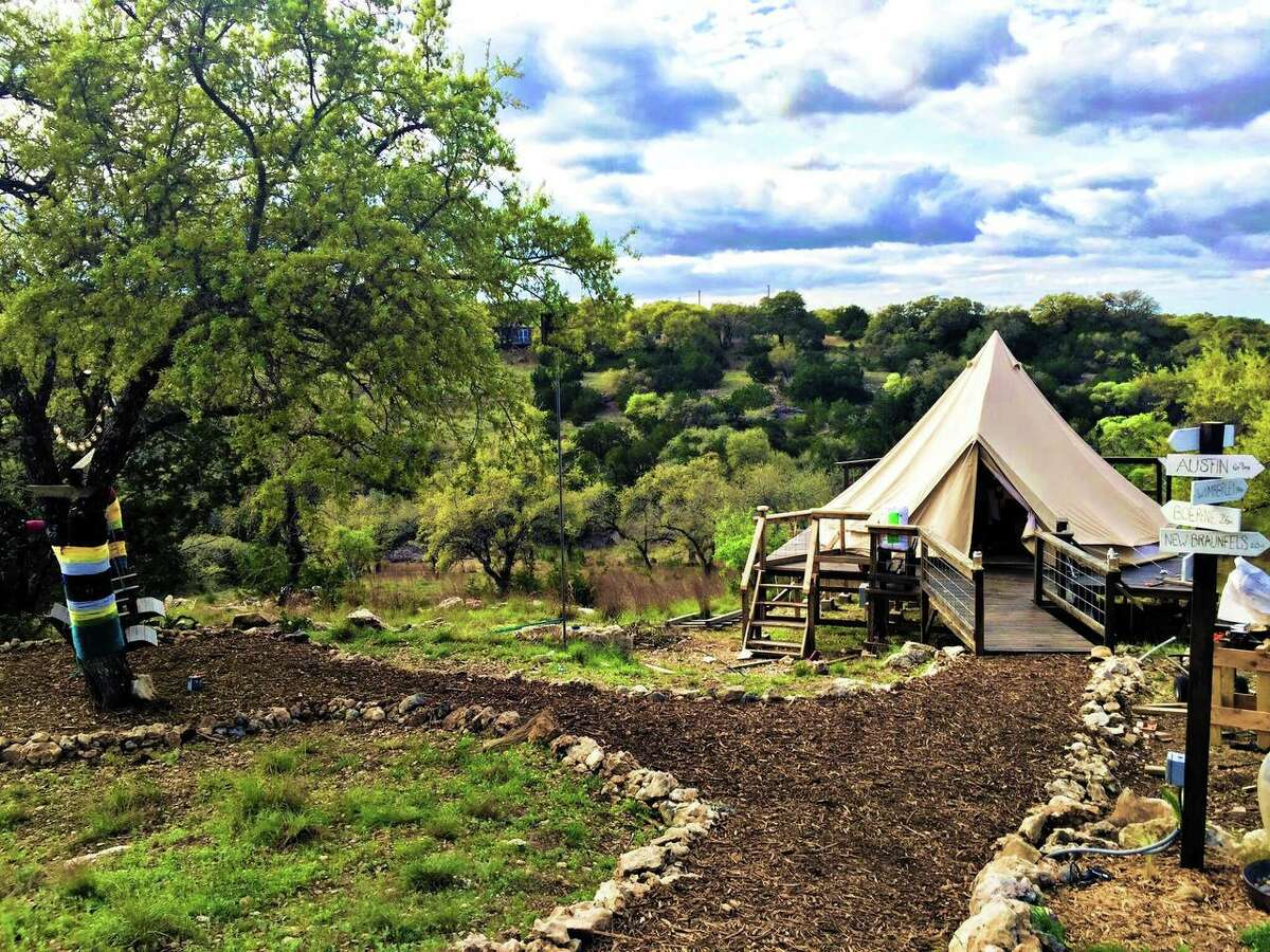 PHOTOS: Popular spots A tricked-out tent Airbnb in Spring Branch. >>Here are some of the most sought-after rentals in South and Central Texas...