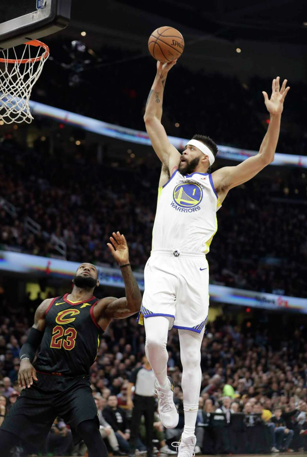 Warriors center JaVale McGee will be heading south to play for the Los Angeles Lakers, astride LeBron James, whose defection from the Cleveland Cavaliers stunned fans.