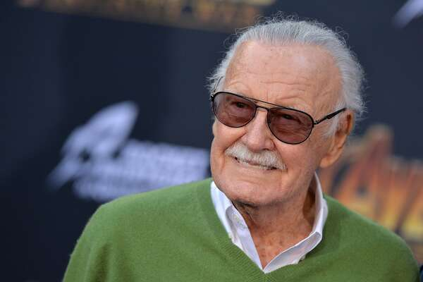 Stan Lee attends the World Premiere of Avengers: Infinity War on April 23, 2018 in Los Angeles. Photo (Lionel Hahn/Abaca Press/TNS)