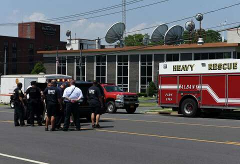 Suspicious package at WTEN deemed safe - Times Union