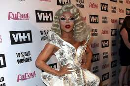 """LOS ANGELES, CA - JUNE 08:  TV personality Vanessa Vanjie Mateo attends VH1's """"RuPaul's Drag Race"""" Season 10 Finale at The Theatre at Ace Hotel on June 8, 2018 in Los Angeles, California.  (Photo by David Livingston/Getty Images)"""