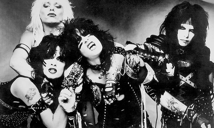 Motley Crue played the Beaumont Civic Center in 1985. Photo provided by the artist