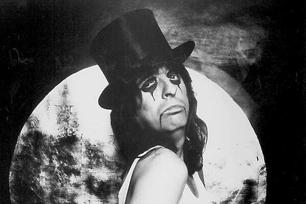 Alice Cooper played the Beaumont Civic Center in 1980. Photo provided by the artist