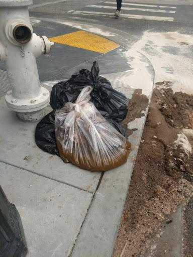 20 pounds of human waste' dropped on San Francisco street