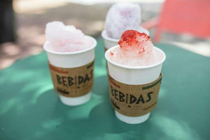 Snowballs at Bebidas use organic syrup.