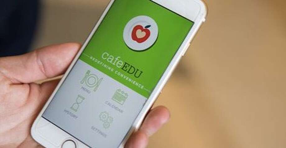CafeEDU is an app built for K-12 schools that allows students to place their lunch orders each day before they get to the cafeteria. This will allow schools to get a better idea of how much food to make each day and reduce food waste, according to the app's creators. Photo: CafeEDU LLC