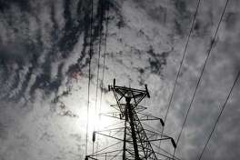 An electrical power line is shown in Dallas in 2007.
