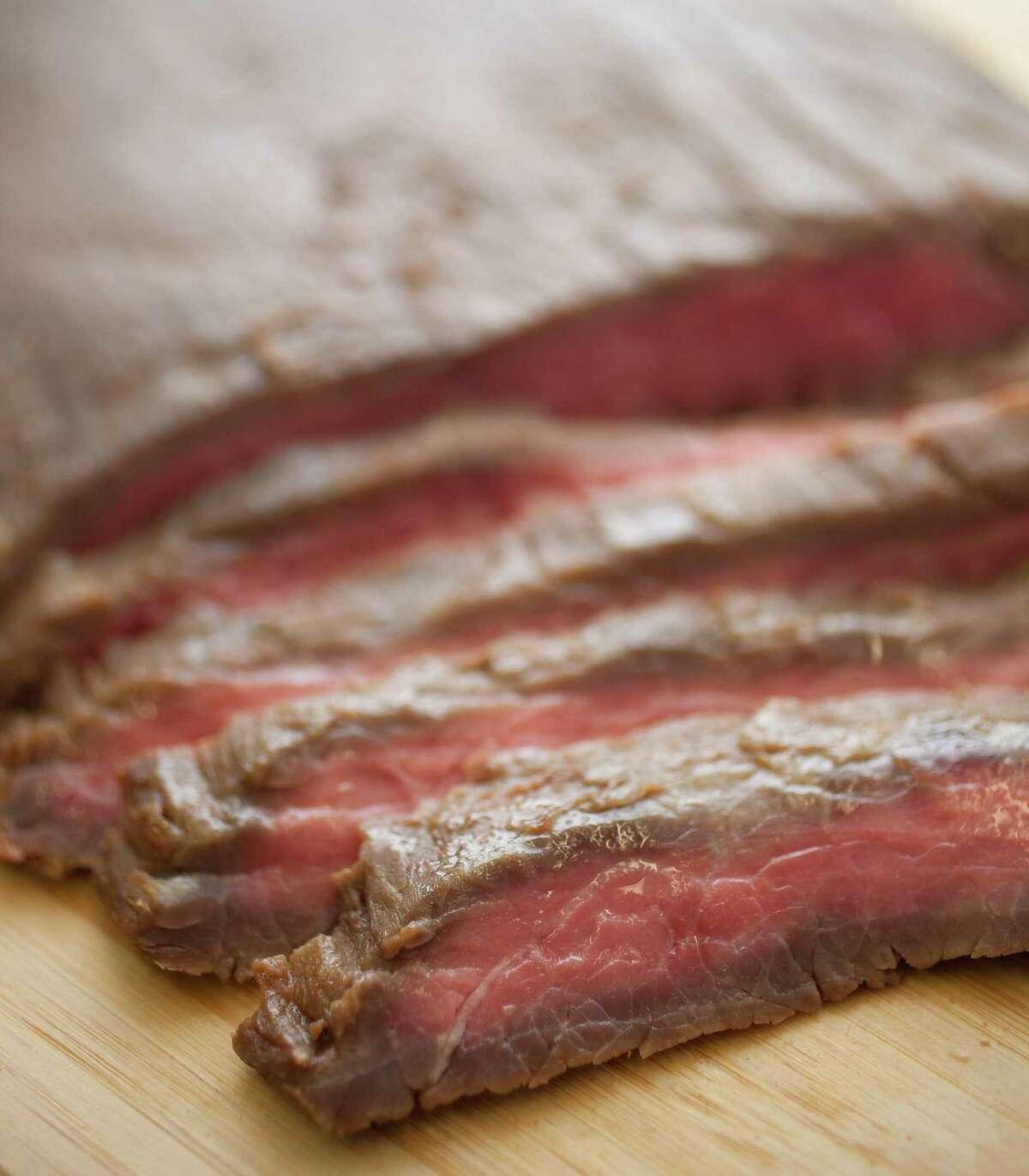 Asian-Glazed Flank Steak