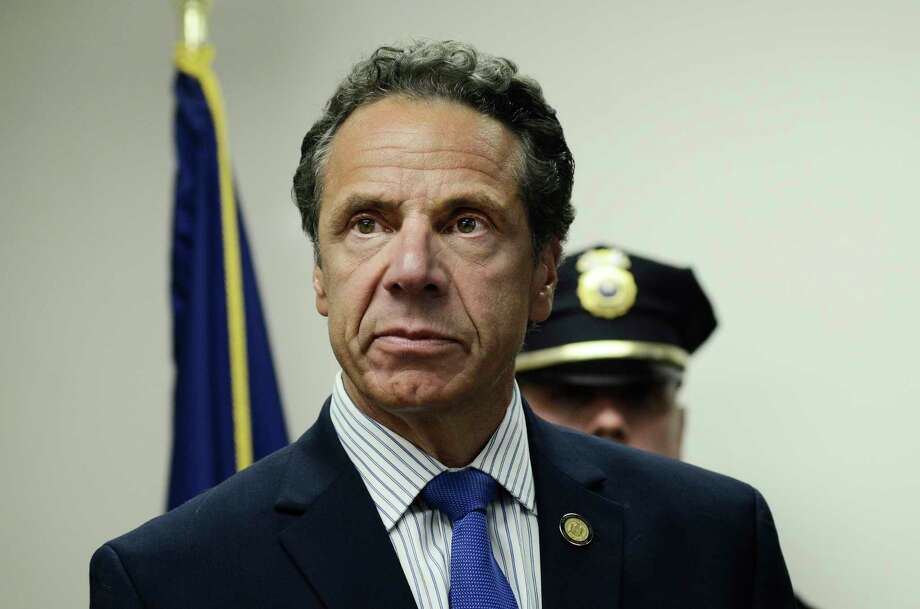 A controversial, but common practice of paying Executive Chamber staff  from the budgets of agencies and authorities was employed when two  Democratic state senate candidates briefly worked for Gov. Andrew M.  Cuomo. Photo: Heather Ainsworth, AP / FR120665 AP