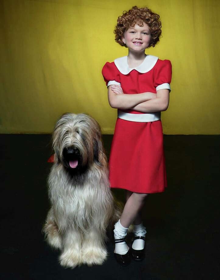 Landmark Community Theatre presents the Tony Award winning musical, Annie on its main stage. MaddieKay Harris, 8, of Avon takes on the role of the famous orphan, Annie. Photo: Contributed Photo / / Lisa Cherie