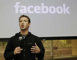 FILE - In this May, 26, 2010 file photo, Facebook CEO Mark Zuckerberg talks about the social network site's new privacy settings in Palo Alto, Calif.  Facebook has raised $500 million from Goldman Sachs and a Russian investment firm in a deal that values the company at $50 billion, The New York Times reported. Goldman invested $450 million and Digital Sky Technologies invested $50 million, the newspaper reported Sunday in its online edition, citing people involved in the transaction that it did not name. Goldman has the right to sell part of its stake, up to $75 million, to the Russian firm. (AP Photo/Marcio Jose Sanchez, File)