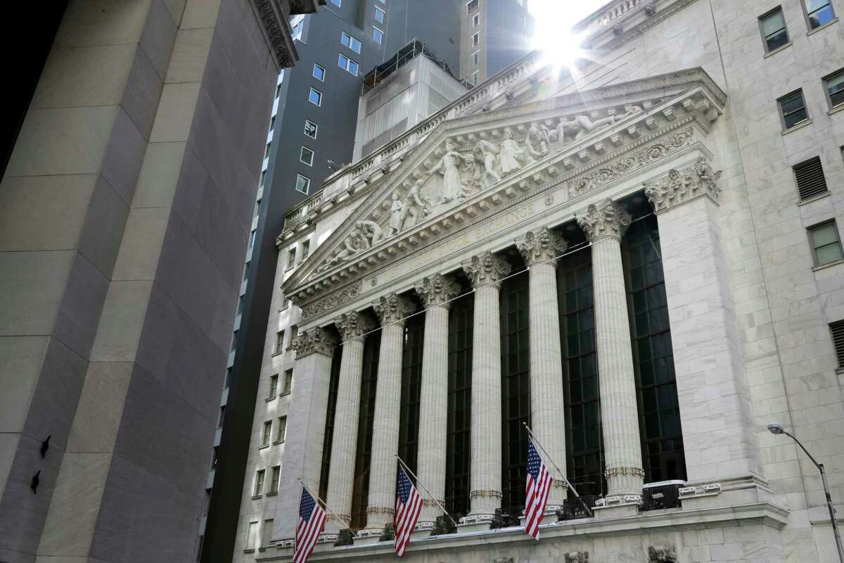 FILE- This June 25, 2018, photo shows the New York Stock Exchange is seen in New York. The U.S. stock market opens at 9:30 a.m. EDT on Monday, July 2. (AP Photo/Seth Wenig, File)