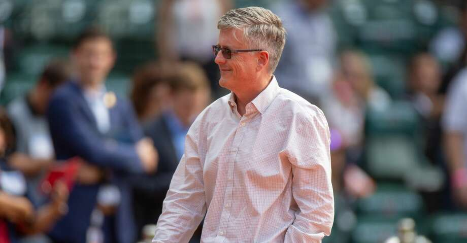 PHOTOS: Astros game-by-game Houston Astros General Manager Jeff Luhnow on the field during batting practice prior to an MLB game between the Houston Astros and the New York Yankees on May 2, 2018 at Minute Maid Park in Houston, Texas.. (Photo by Juan DeLeon/Icon Sportswire via Getty Images) Browse through the photos to see how the Astros have fared through each game this season. Photo: Icon Sportswire/Icon Sportswire Via Getty Images