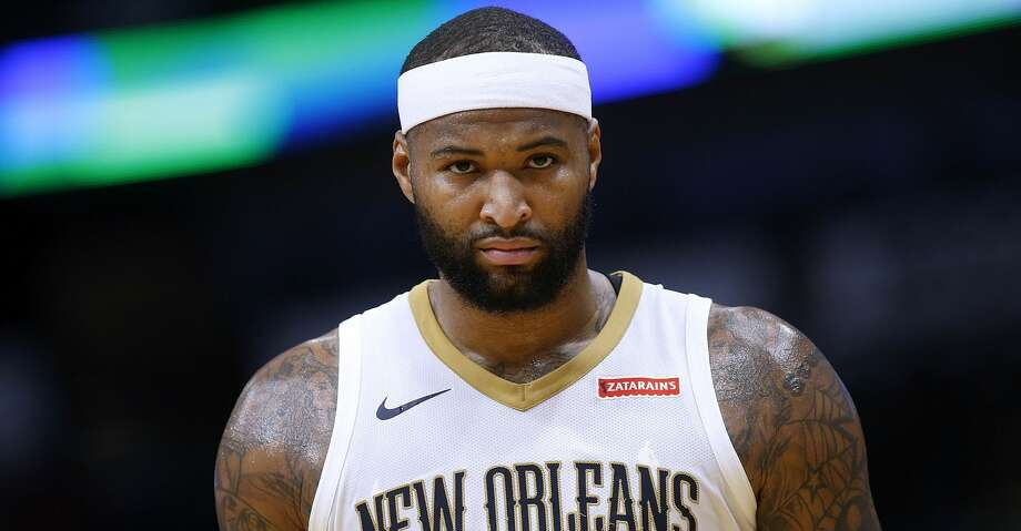 NEW ORLEANS, LA - DECEMBER 04:  DeMarcus Cousins #0 of the New Orleans Pelicans reacts during the first half of a game against the Golden State Warriors at the Smoothie King Center on December 4, 2017 in New Orleans, Louisiana. NOTE TO USER: User expressly acknowledges and agrees that, by downloading and or using this Photograph, user is consenting to the terms and conditions of the Getty Images License Agreement.  (Photo by Jonathan Bachman/Getty Images) Photo: Jonathan Bachman/Getty Images