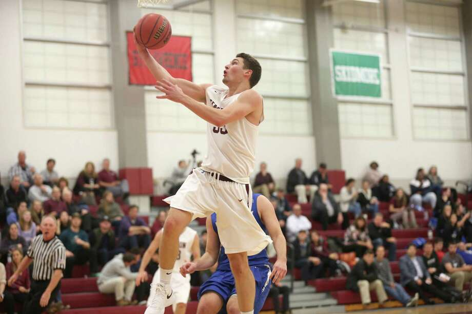 Bethel's Matt Liquori in action for the Union College men's basketball team. Photo: Photo Courtesy Of Matt Milless/Union Athletics / Photo Courtesy Of Matt Milless/Union Athletics