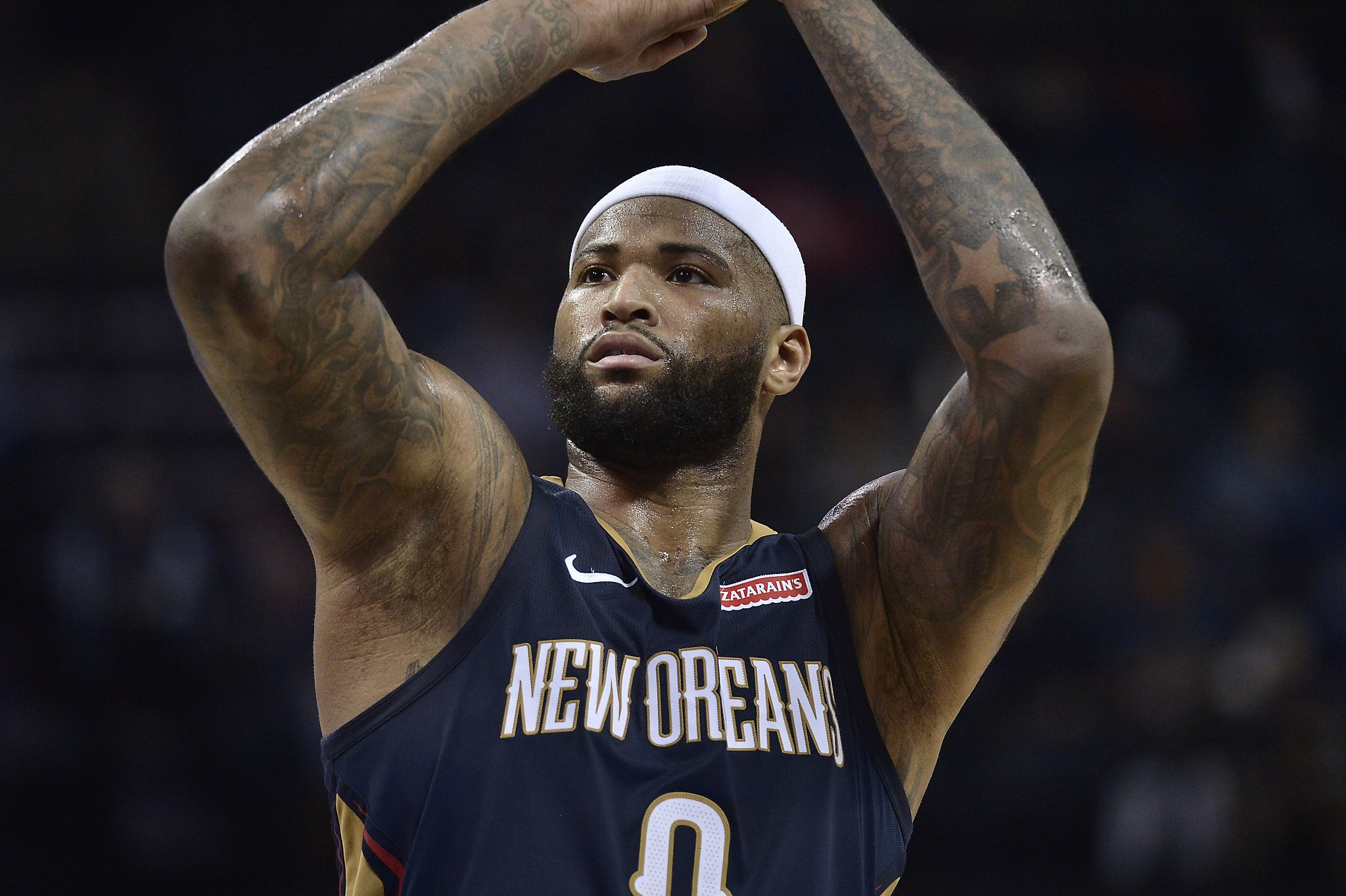 DeMarcus Cousins and the Warriors  a temporary 2e06fe2bb