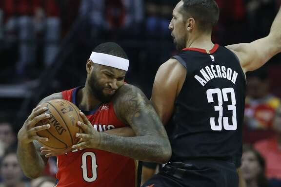 The addition of All-Star cen- ter DeMarcus Cousins solves the Warriors' one weakness.