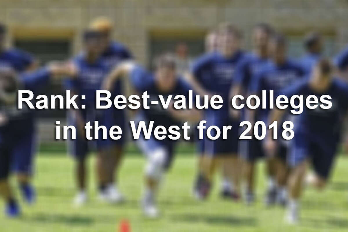 Click ahead to view the best-value schools in the West, according to U.S. News & World Report.
