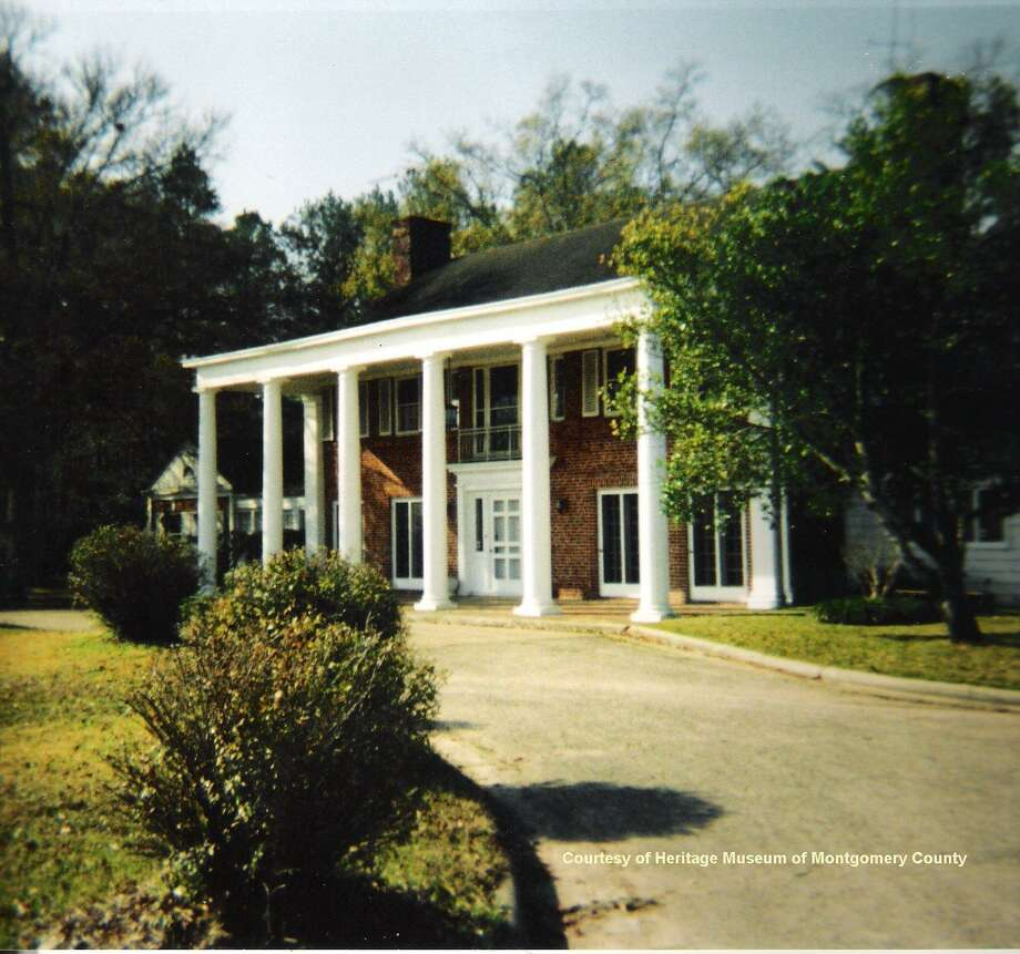 A photo of the old Hooper home on Frazier Street near Wilson Road. Conroe councilman Guy Martin recalls many happy days spent playing with his cousins in the grassy area in front of the Hooper home. Martin is the grandson of former Montgomery County Sheriff Guy Hooper, brother to Dick Hooper. / Internal
