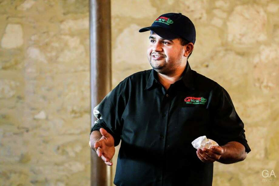 Hitish Nathani, owner of Indian-Mexican fusion food truck Bombay Salsa and a leader in the San Antonio entrepreneurial community, died unexpectedly Friday. He was 33. (Courtesy of Ryan Salts) Photo: Courtesy Of Ryan Salts